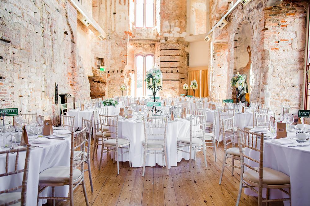 Wedding Reception Room Lulworth Castle