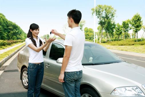 leasing a new car