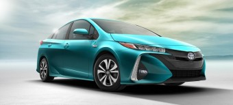 This is the Toyota Prius Plug-In Hybrid, the new flagship of the Toyota hybrid range