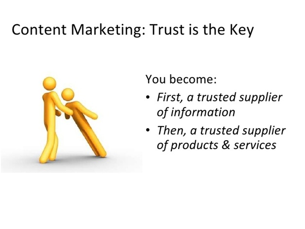 Trust and The Content Marketing Revolution