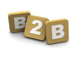 B2B text