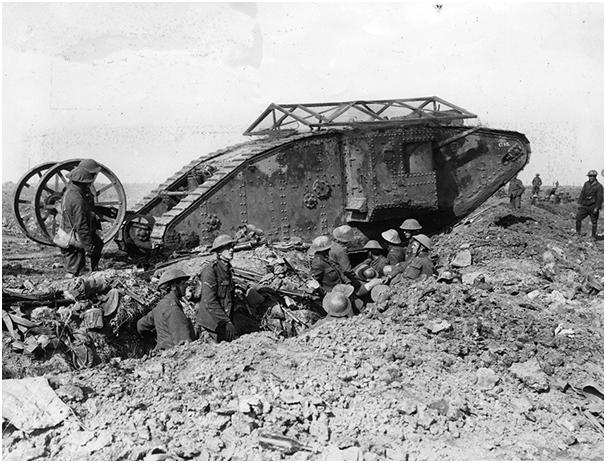 How did tanks change Warfare