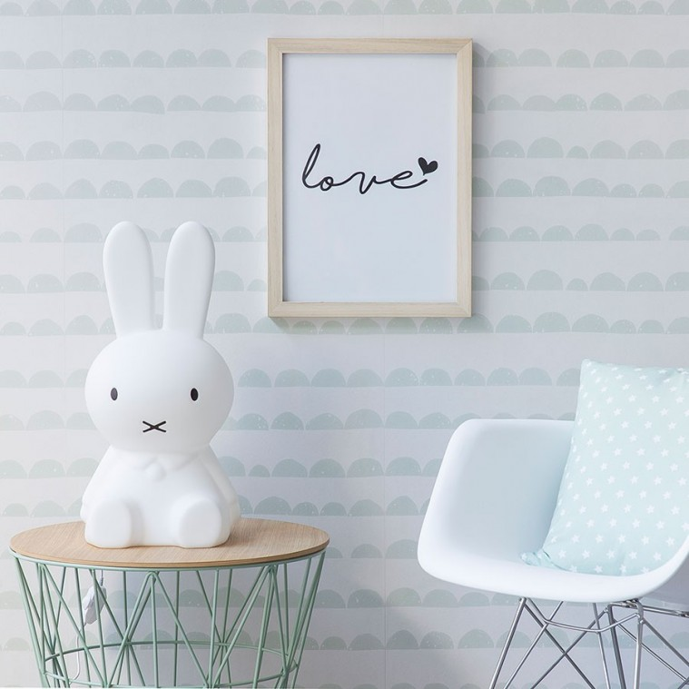 Nordic style to decorate the childrens room