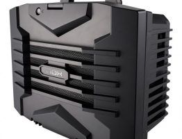 Lanbx Nox, transportable and compact chassis