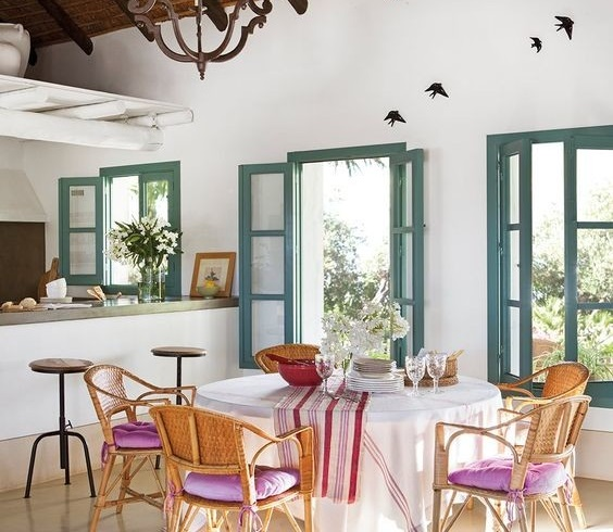 Heat, heat ... 7 decorative ideas to cool the house