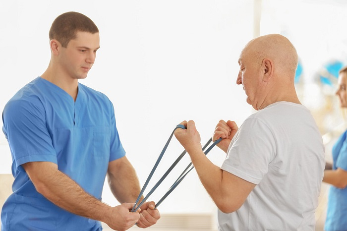 So does a physiotherapist in the treatment of cancer