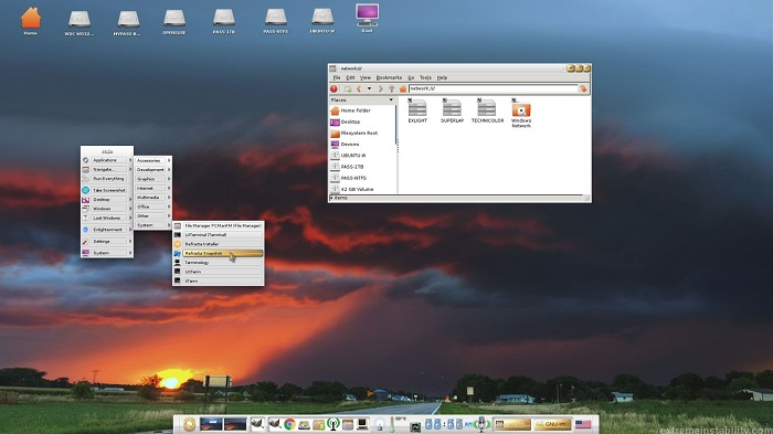 ExLight, the distro with which you can create your own version of Ubuntu with Enlightenment