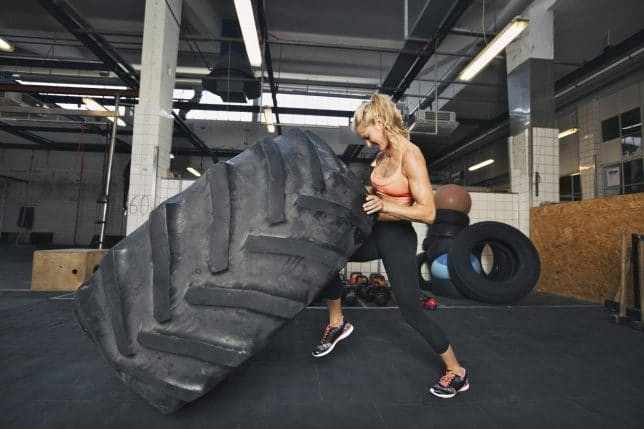 The important thing about training to gain muscle mass